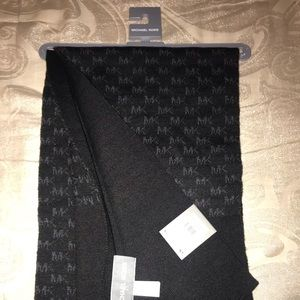 Michael kors scarf with MK logo on it brand new.